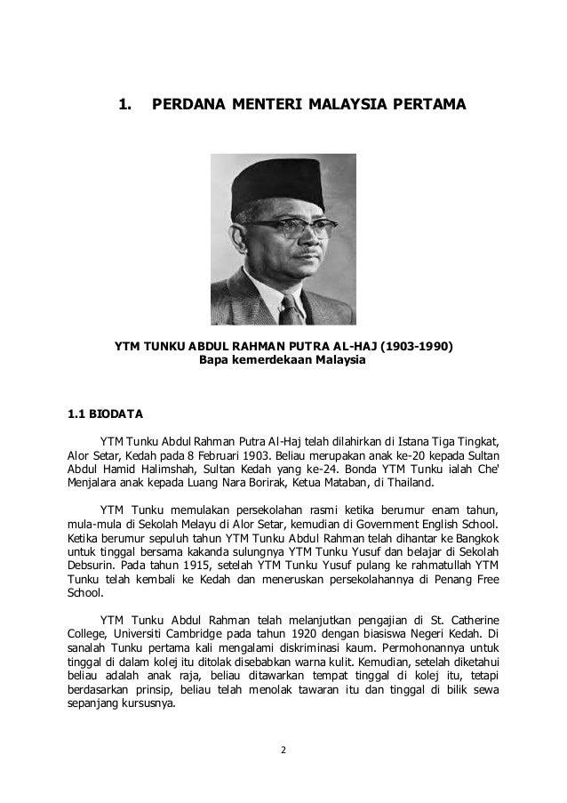essay biography of tun abdul rahman Biography of tun abdul razak perdana leadership foundation essay competition tunku abdul rahman berkahwin dengan tun sharifah rodziah pada tahun 1939.