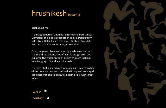 hrushikeshbosamia Brief about me: I am a graduate in Chemical Engineering from Shivaji University and a post graduate in T...