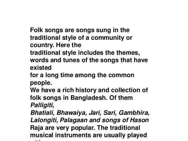 Folk songs-pptx
