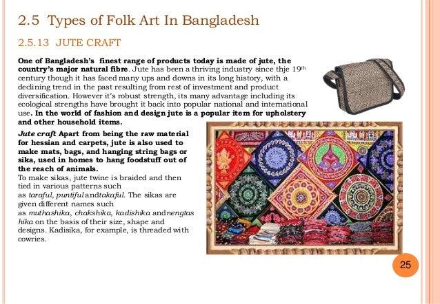 Folk Art Of Bangladesh