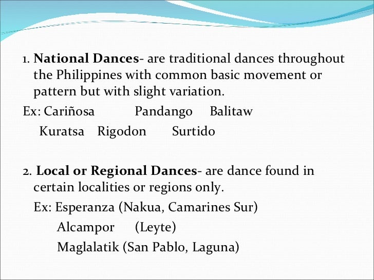 Carinosa, The National Dance Of The Philippines Essay Sample