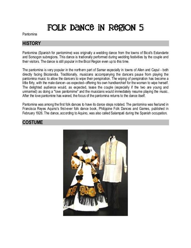 Folk dance in each region in the philippines