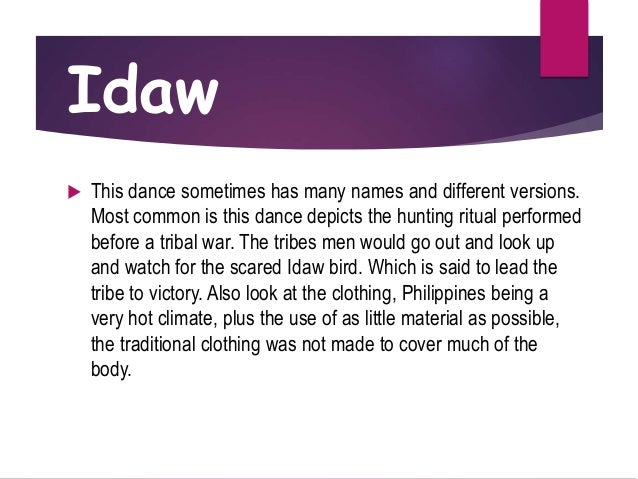 idaw dance history
