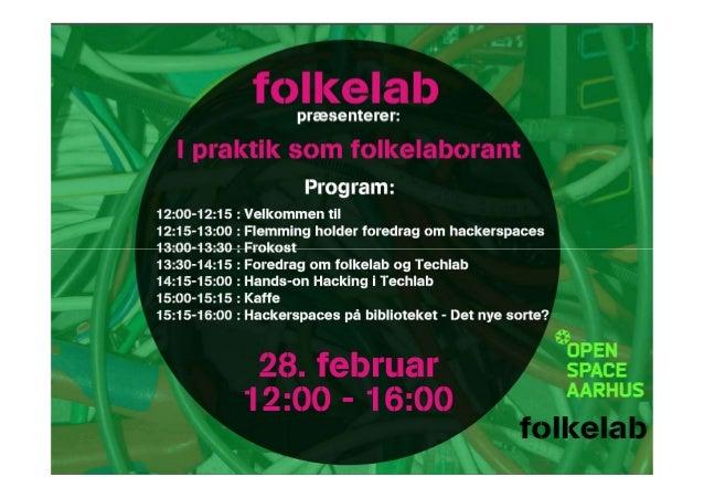 folkelabLokalsamfundets Innovationsrum