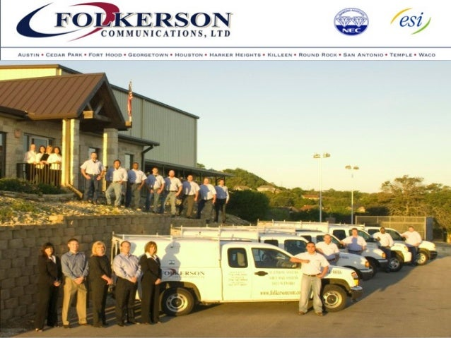 Folkerson Communications, LTD is a leading VoIP service provider in Austin, Texas. www.folkersoncom.com