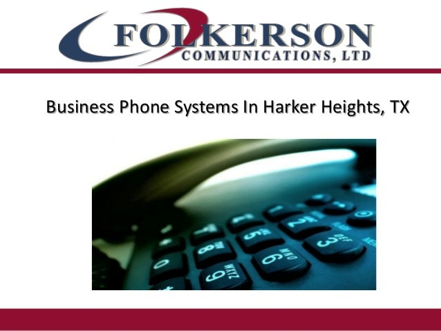 Business Phone Systems In Harker Heights, TX