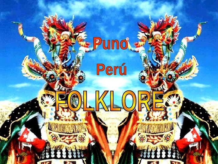 FOLKLORE Puno Perú