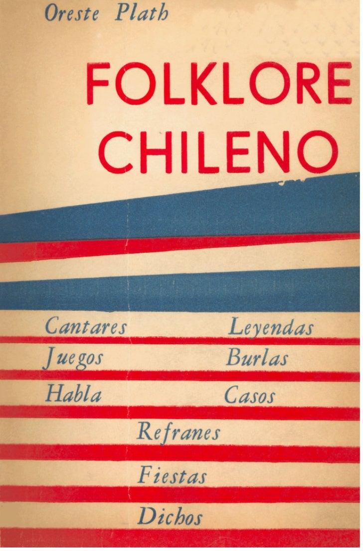 Oreste Plath: Folklore chileno [1962]