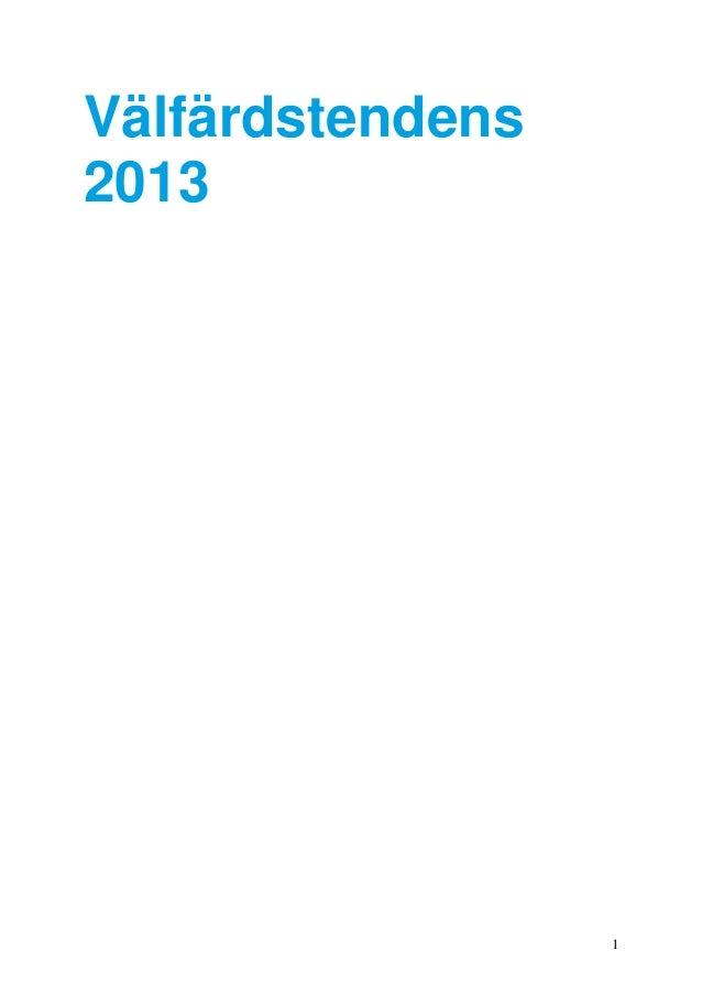 1Välfärdstendens2013