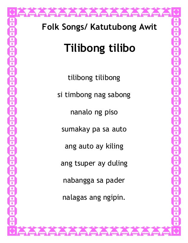 Kanta tayo lyrics
