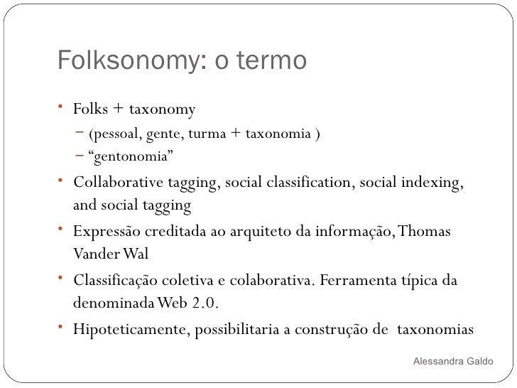 Folksonomias Slide 2