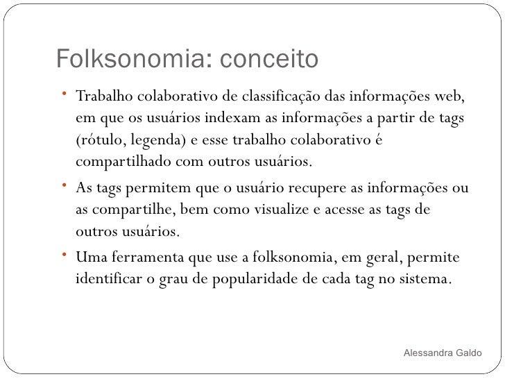 Folksonomias Slide 3