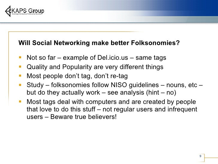 Folksonomies and tagging 9 will social networking fandeluxe Images