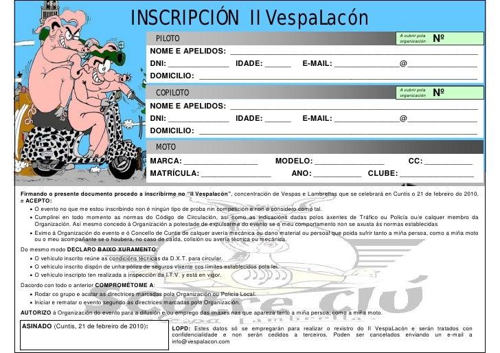 INSCRIPCIÓN II VespaLacón                                                                                                 ...