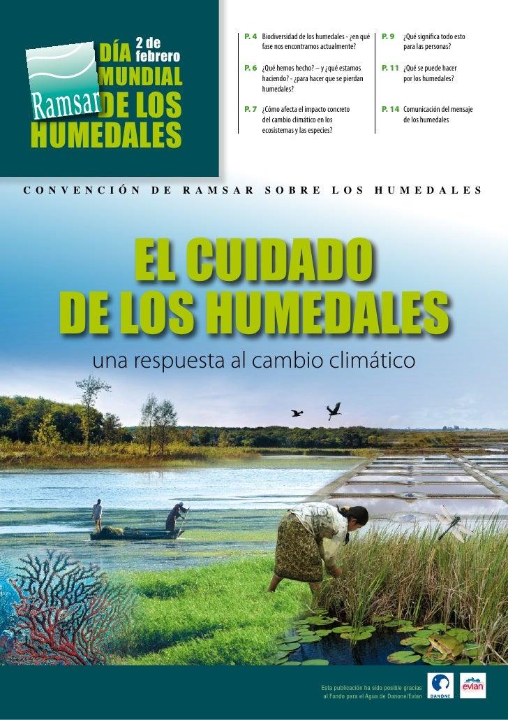 P. 4 Biodiversidad de los humedales - ¿en qué     P. 9     ¿Qué significa todo esto                   2 de             día...
