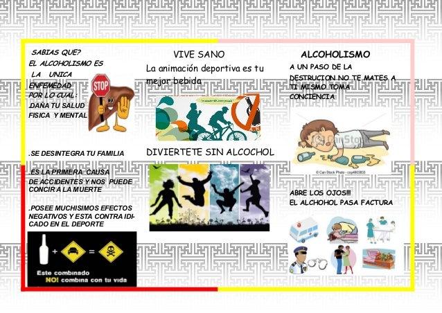 La hora de clase el fumar la narcomanía del alcoholismo