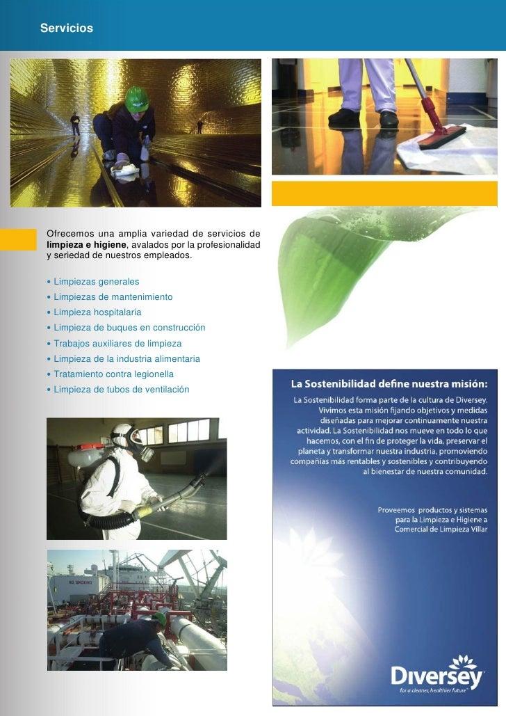 Folleto empresas limpieza for Servicios de construccion