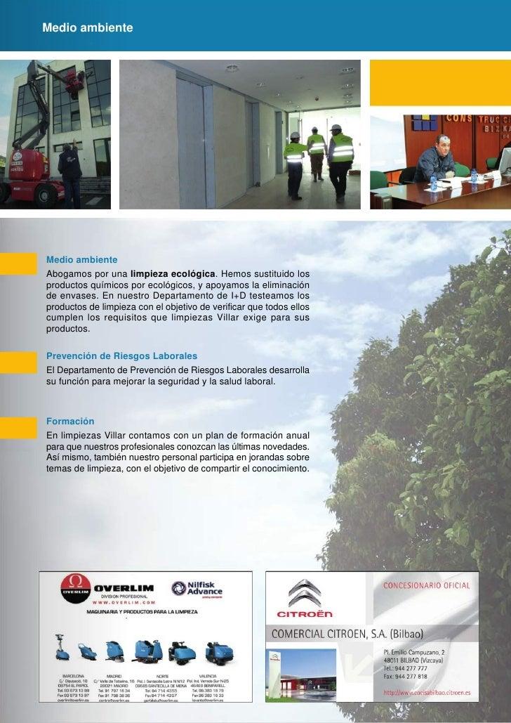 Folleto empresas limpieza for Laboral kutxa oficinas bilbao