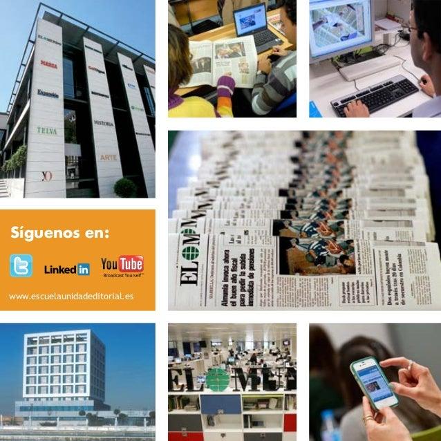 Máster en Periodismo de Investigación, Datos y Visualización Slide 2