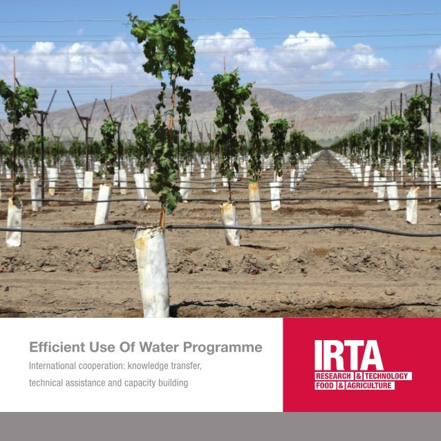 Degree Of The Ocean And Efficient N: Efficient Use Of Water Program (ENG