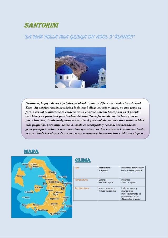 Descubre Santorini