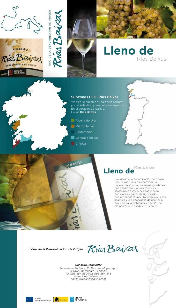 Lleno de     Rías Baixas