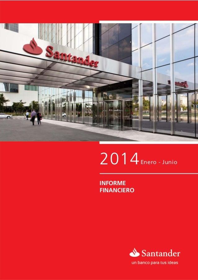 2014Enero - Junio INFORME FINANCIERO ENERO - SEPTIEMBRE