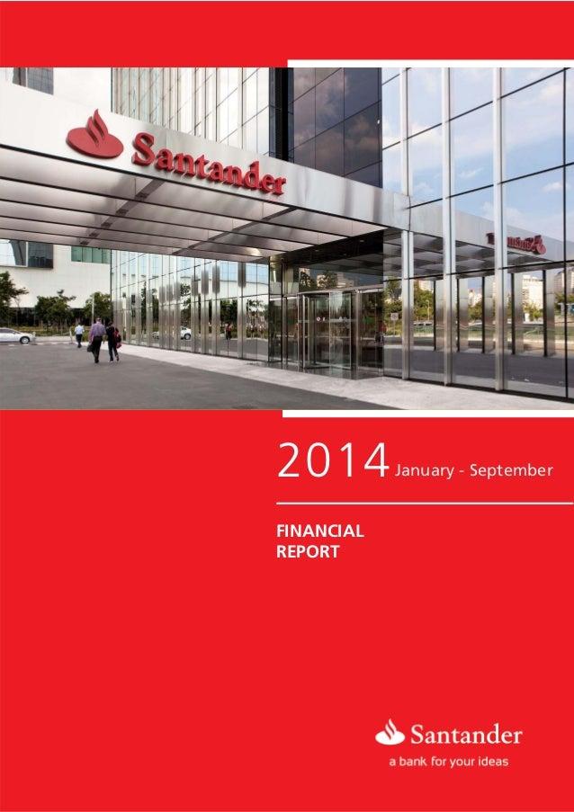 2014January - September  FINANCIAL REPORT ENERO - SEPTIEMBRE