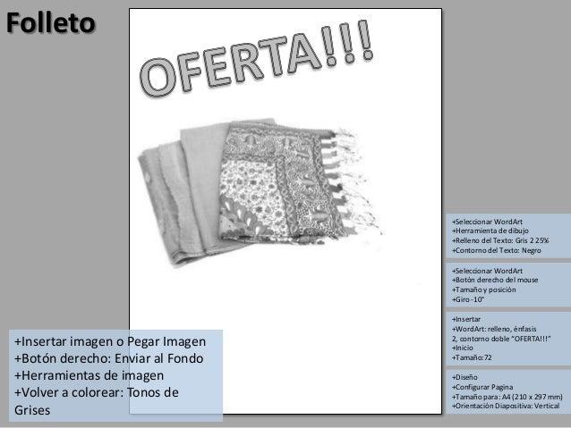 Como hacer folletos para fotocopiar