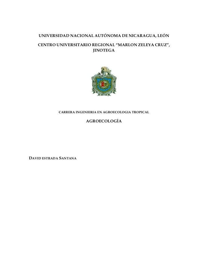 """UNIVERSIDAD NACIONAL AUTÓNOMA DE NICARAGUA, LEÓN   CENTRO UNIVERSITARIO REGIONAL """"MARLON ZELEYA CRUZ"""",                    ..."""