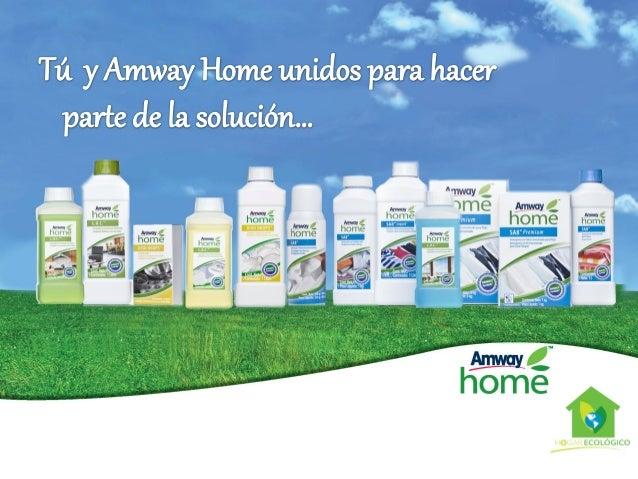 Amway Home Hogar Ecológico Slide 3