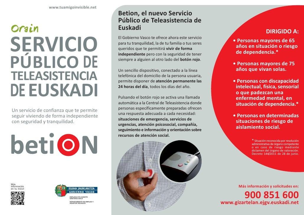 www.tuamigoinvisible.net                                                     Betion, el nuevo Servicio                    ...
