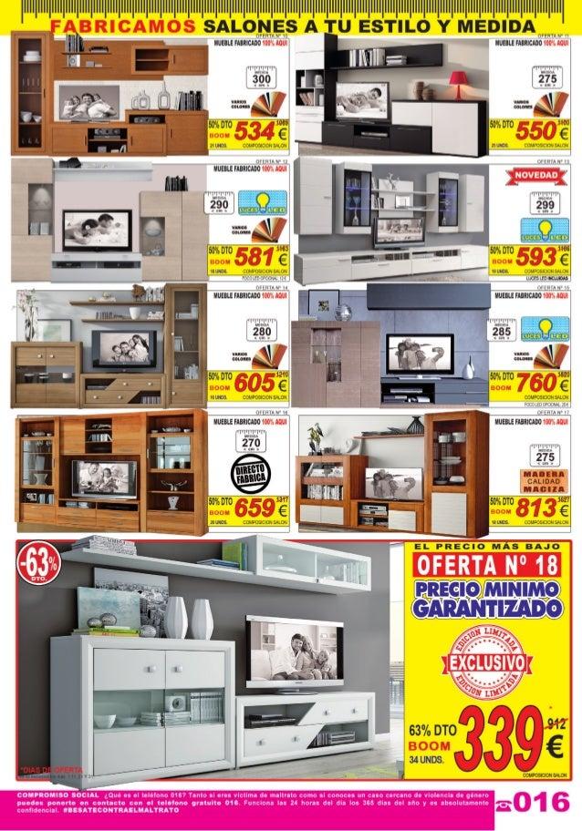 Cat logo ofertas julio de 2014 muebles boom for Muebles ofertas online