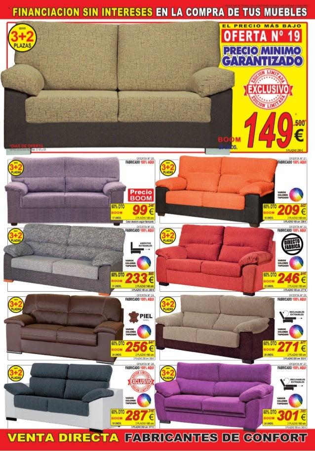 Cat logo ofertas julio de 2014 muebles boom for Ofertas muebles valladolid