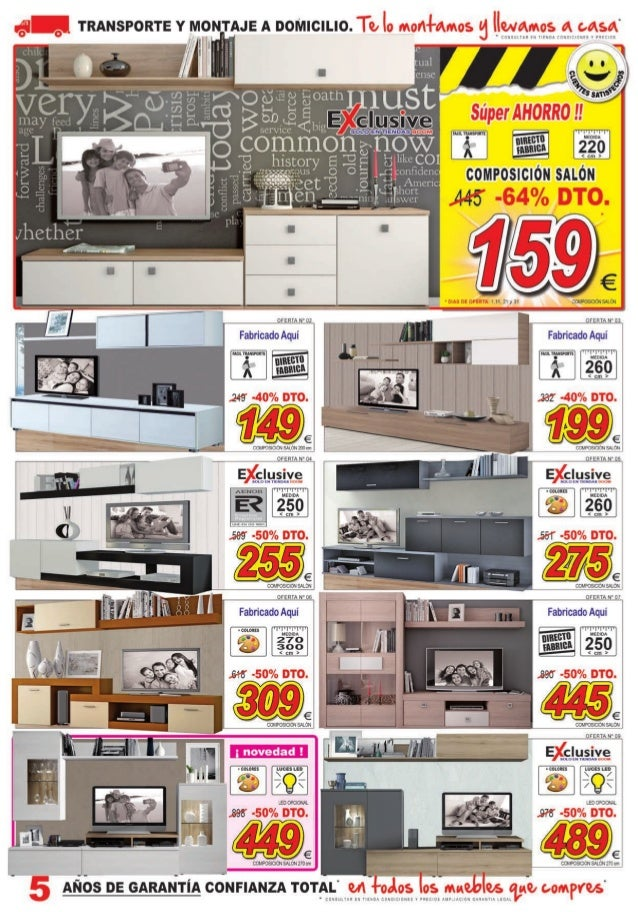 Cat logo ofertas julio de 2015 muebles boom for Muebles boom alicante