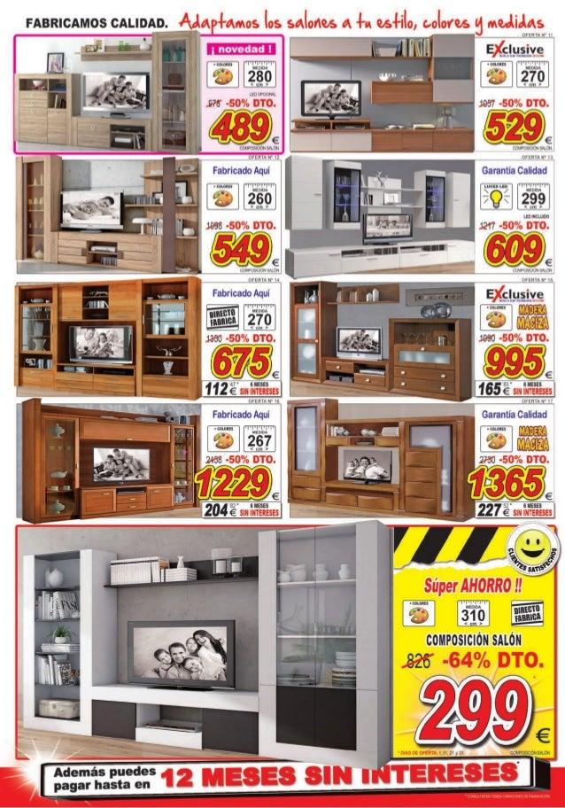 Cat logo ofertas julio de 2015 muebles boom for Muebles boom rivas