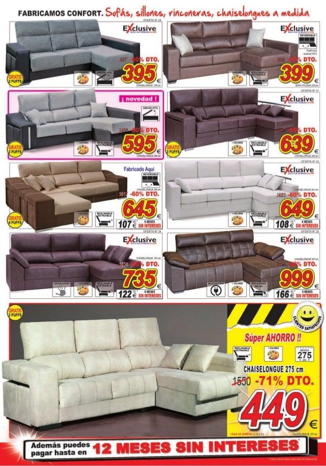 Sofas salamanca ofertas refil sofa for Muebles boom salamanca