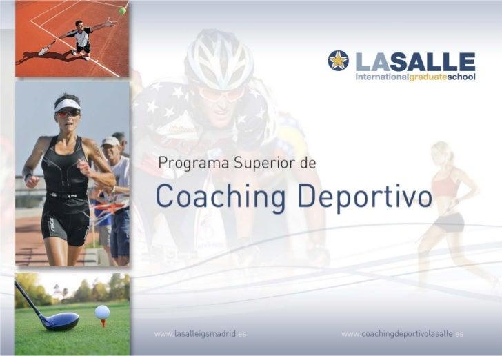 Folleto Coaching Deportivo