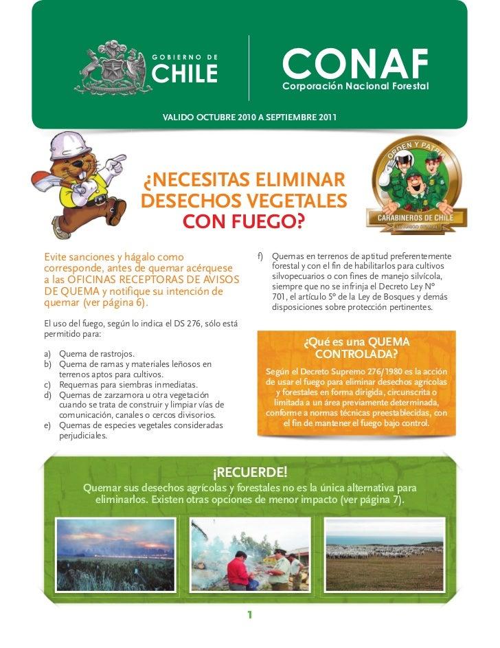 CONAF                                                                   Corporación Nacional Forestal                     ...