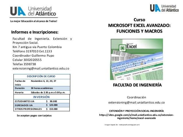 La mejor Educación al alcance de Todos! Coordinación extensioning@mail.uniatlantico.edu.co EXTENSIÓN Y PROYECCIÓN SOCIAL I...