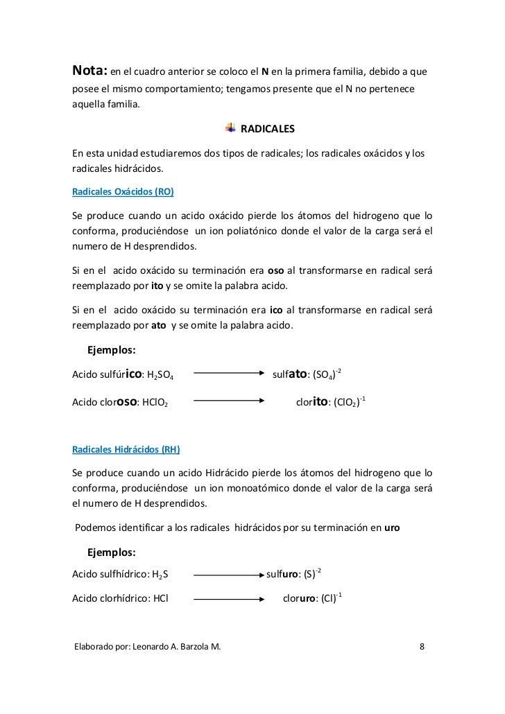 Folleto de nomenclatura qumica nivel 0 8 urtaz Image collections