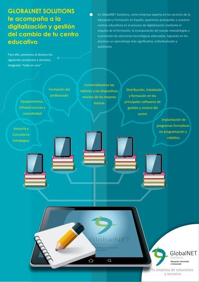 GLOBALN ET SOLUTIONS  .  En G| oba| NET Solutions,  como empresa experta en los sectores de la  te  G   Educacién y Formac...