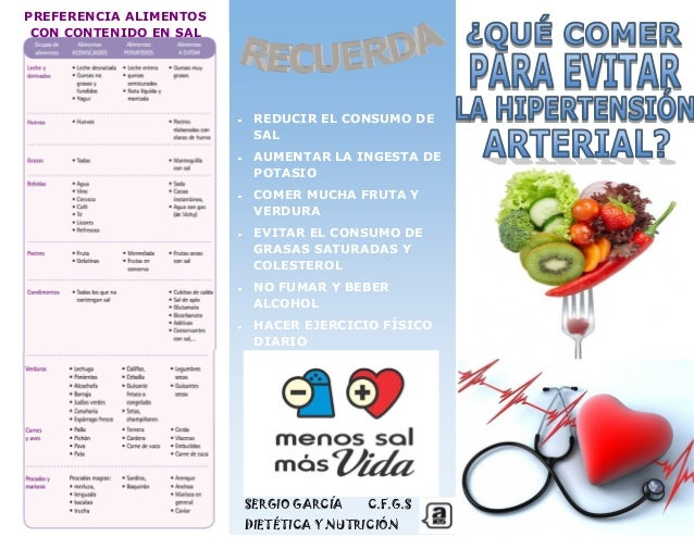 Follet alimentaci n en la hipertensi n arterial - Alimentos que suben la tension ...