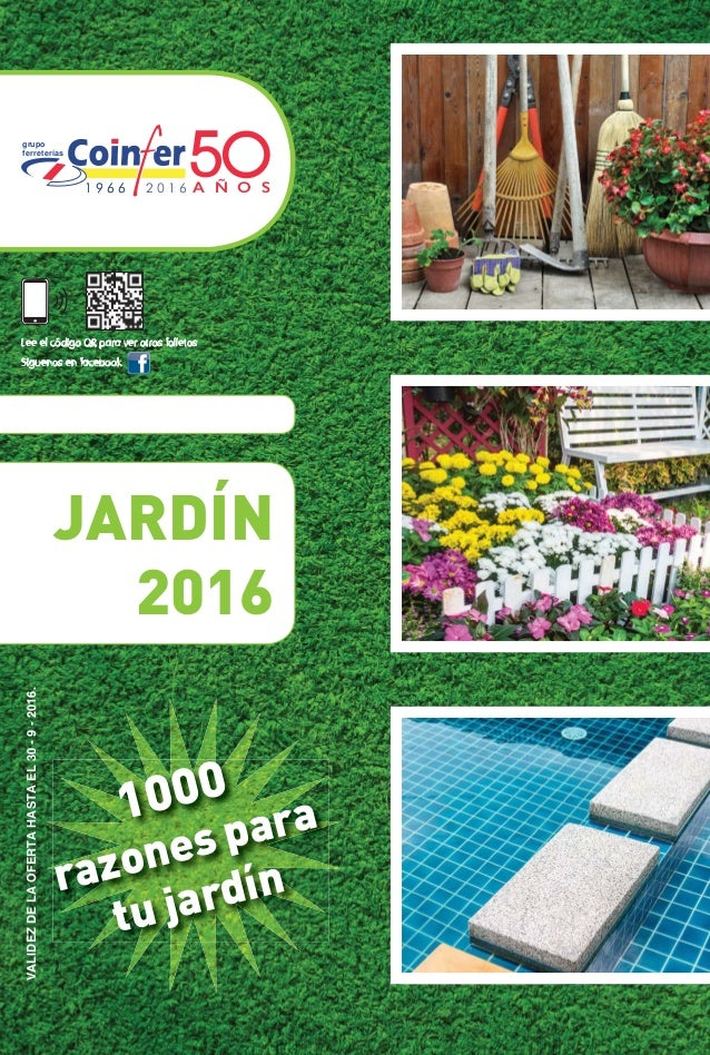 Folleto jardin 2016 for Jardins jardin 2016