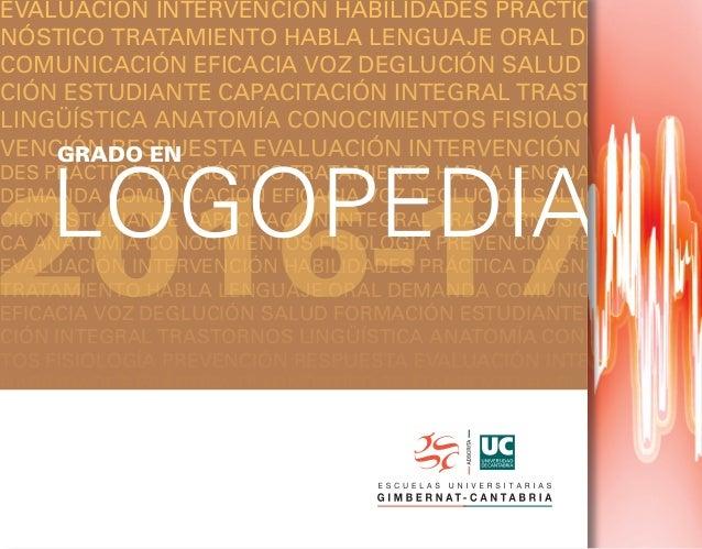 Grado en Logopedia 16 17