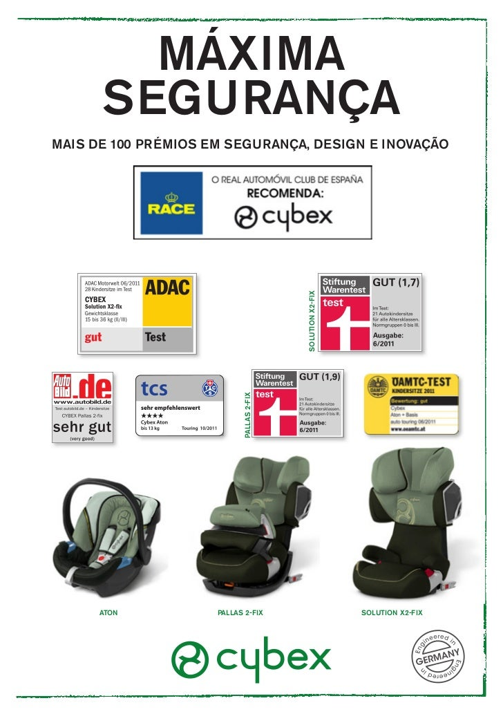 MÁXIMA      SEGURANÇAMAIS DE 100 PRÉMIOS EM SEGURANÇA, DESIGN E INOVAÇÃO                                          SOLUTION...
