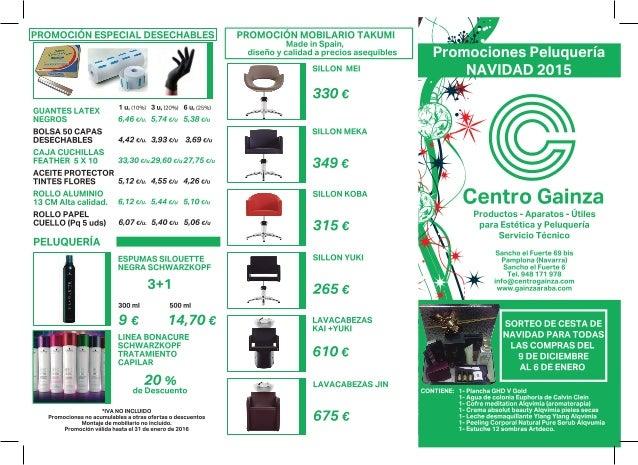 centro gainza ofertas pamplona la rioja navidad 2015