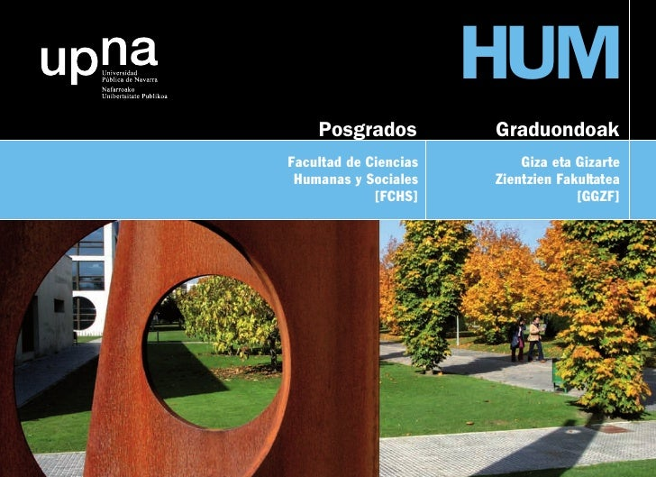 HUM     Posgrados          Graduondoak Facultad de Ciencias       Giza eta Gizarte  Humanas y Sociales    Zientzien Fakult...