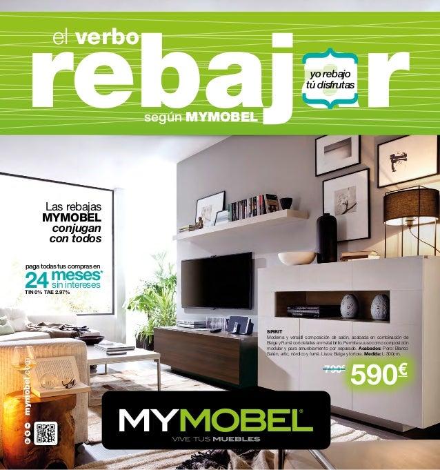 Mymobel cat logo de rebajas verano 2013 muebles y decoraci n for Muebles catalogo 2013