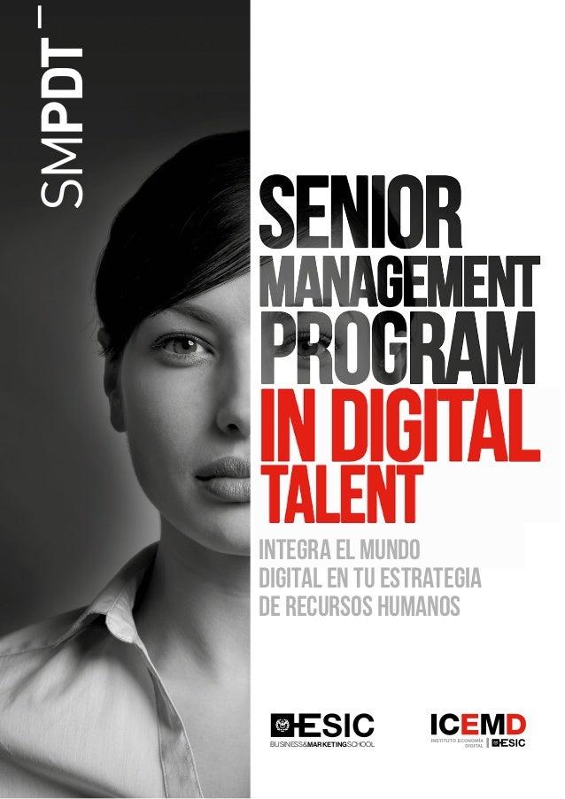 SMPDT _ Integra el mundo digital en tu estrategia de recursos humanos BUSINESS&MARKETINGSCHOOL